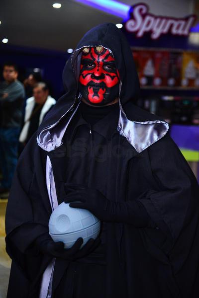 Así lucieron fans laguneros de Star Wars.