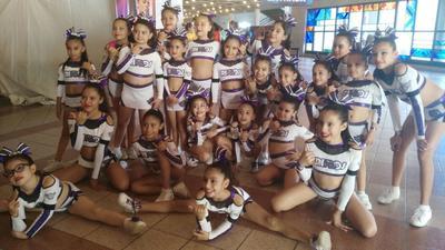 14122017 Grupo de Mini Rinos, quienes obtuvieron el segundo lugar en el Campeonato Nacional ONP los días 10, 11 y 12 de noviembre en la CDMX en el Teatro San Benito Abad.