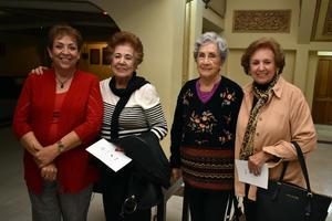 14122017 Rita, Esthela, Aurora y María del Pilar.