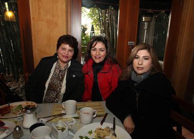 Soraya Ríos, Claudia Quintero y Rayo Montoya.