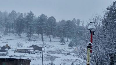 Regresan las nevadas a Durango