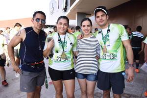 15122017 CARRERA ATLéTICA.  Eduardo, Roli, Vanessa y Ricardo.