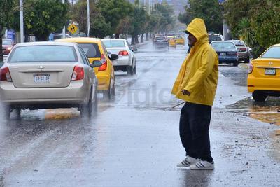 Las precipitaciones comenzaron en la región desde la tarde del jueves.