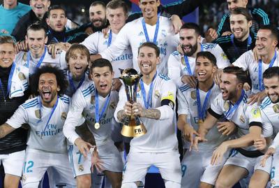 El Real Madrid cierra así el año con más títulos de su historia.