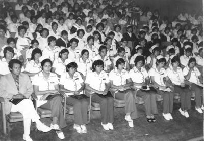 17122017 Congreso Nacional de Enfermería de la Cruz Roja en Poza Rica, Veracruz, en 1973.