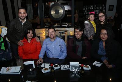 Familia Rascón y Familia Ruiz.