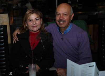 Lety Cárdenas y Roberto Piña.