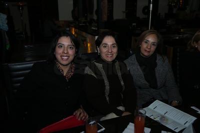 Diana, Elena y Carmen.
