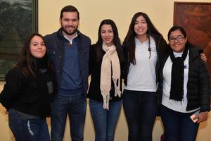 19122017 Janeth, Andrés, Ana, Sofía y Mariana.