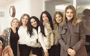 19122017 POSADA ENTRE AMIGAS.  Eloísa, Victoria, Alejandra, Sara, Lily y Suheila.