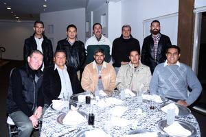 19122017 José, Miguel, Cristian, Enrique, Matías, Zacarías, Tomás, Víctor, Adalberto y Félix.