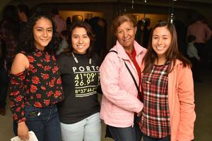 20122017 Mayte, Jessica, Lucy y Nancy.