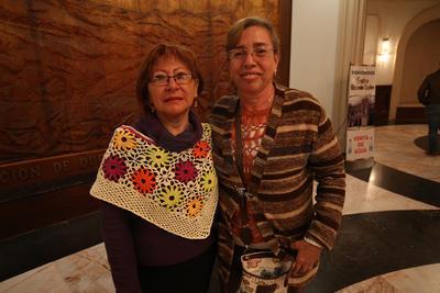 María Eugenia y Julia.