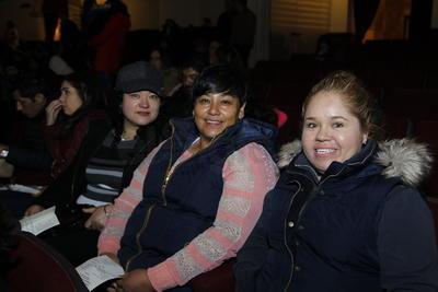 Alicia, Zujey y Mirna.