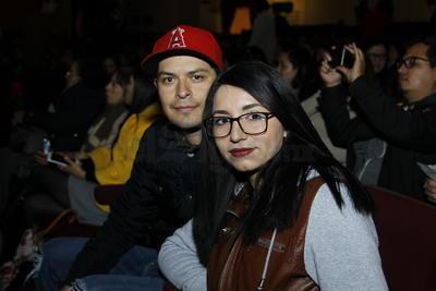 Ángel y Alejandra.
