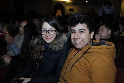 Cecilia y Sergio.