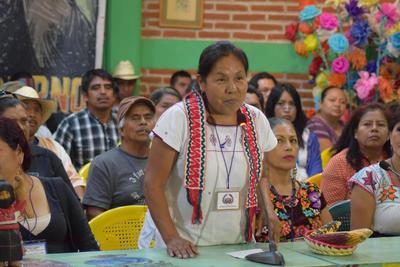 28 de mayo. Nombramiento | El Congreso Nacional Indígena y el EZLN nombran a María de Jesús Patricio Martínez, indígena nahua de Jalisco como su vocera y posible candidata independiente a la presidencia en 2018.