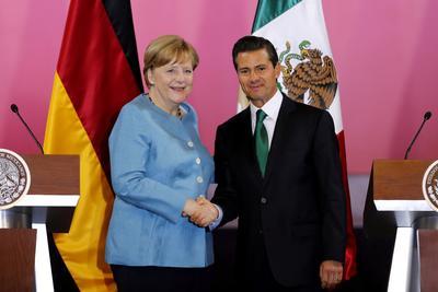 09 de junio. Visita | La canciller alemana Angela Merkel realiza una visita oficial a México, en donde se firman nuevos acuerdos.