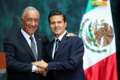 16 de julio. Visita | El presidente de Portugal, Marcelo Rebelo de Sousa visita México luego de 18 años de que el país no fuera visitado por un presidente portugués.