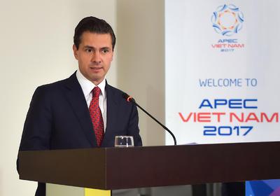08 de noviembre. Cumbre | El presidente Enrique Peña Nieto viaja a Đà Nẵng, Vietnam, donde participa en la cumbre de la APEC.