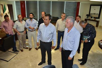 24 de agosto. Reunión | El alcalde electo Jorge Zermeño y el alcalde Jorge Luis Morán sostuvieron la primera reunión para dar inicio al proceso de entrega-recepción de la administración municipal de Torreón.