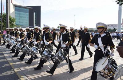 16 de septiembre. Desfile | Con la participación de 6 mil 500 personas se desarrolló el tradicional desfile para conmemorar el aniversario de la Independencia de México.