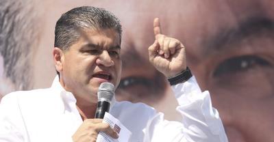 20 de octubre. Resolución | El Instituto Nacional Electoral (INE) aprobó reducir de 10.52 a 1.61 por ciento, el monto que había determinado como rebase al tope de gastos de la campaña de Miguel Riquelme como candidato del PRI a gobernador de Coahuila.