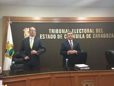 24 de octubre. Resolución | El Tribunal Electoral del Estado de Coahuila desechó 42 expedientes relacionados con el cómputo distrital y municipal de la elección del pasado 4 de junio.