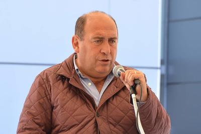 30 de noviembre. Despedida | Rubén Moreira presidió en Torreón sus dos últimos actos como gobernador de Coahuila antes de entregar el mandato a Miguel Riquelme.