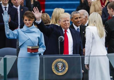 20 de enero. Trump | El republicano Donald Trump toma posesión de la Presidencia de Estados Unidos de América.