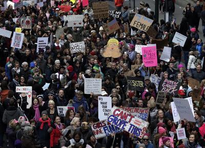 21 de enero. Protestas | En distintos países del mundo se realizan las Women March contra las políticas 'sexistas y xenófobas' del nuevo presidente Donald Trump.