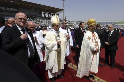 28 de abril. Visita | El papa Francisco visita Egipto, es el segundo pontífice en ir a este país.