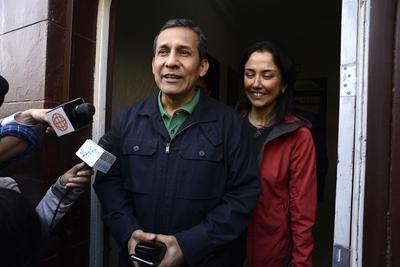 11 de julio. Condena | El expresidente de Perú Ollanta Humala y su esposa, la exprimera dama Nadine Heredia son condenados a 18 meses de prisión preventiva por el Caso Odebrecht.