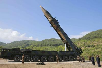 28 de agosto. Misil | Corea del Norte lanza un misil balístico que sobrevuela el espacio aéreo de la isla de Hokkaido, al norte de Japón, antes de caer al mar.