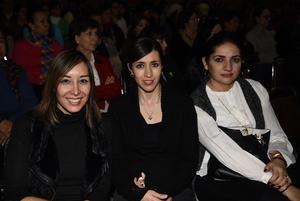 22122017 Karla Belmonte, Laura Madero, Cristina Díaz de León.