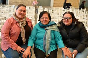 23122017 María del Sol, Elida y Verónica.