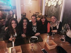 23122017 POSADA ENTRE AMIGAS.  Elvira, Alejandra, Gaby, Lore y Tere.
