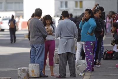 La alarma sísmica se activó en la Ciudad de México.
