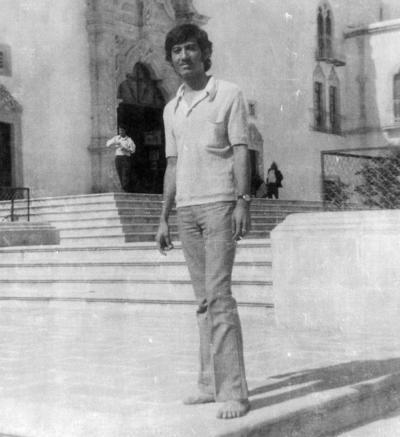 24122017 Sr. Ernesto Sánchez Moreyra (f) en Plateritos en julio de 1973.