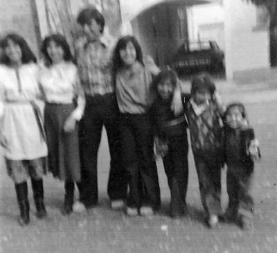 24122017 En familia: Georgina, Yolanda, Jorge, Carolina, Norma Adriana, René Guadalupe y Liliana Valdez González.