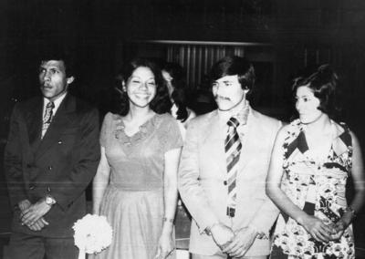 24122017 Javier García, Laura Anguiano, Roberto de Anda y Guille Alcocer en 1974.