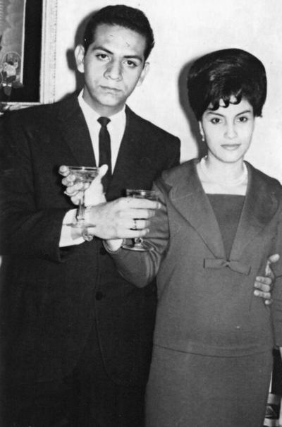 24122017 José Ángel Valle Guzmán y Ma. del Socorro Cedillo González el 24 de diciembre de 1963.
