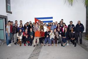 24122017 AMENA CONVIVENCIA.  Posada de la Comunidad Cubana.