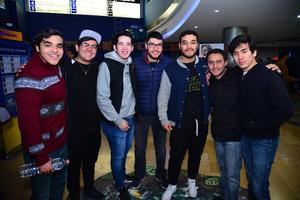 24122017 FANS DE STAR WARS.  Luis, Ricardo, David, Carlos, Abraham, Ángel y Alex.