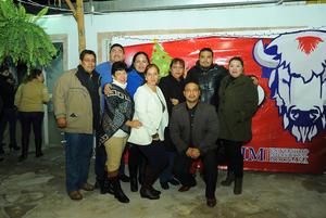 26122017 Arturo, Nazario, Adriana, Lidia, Rosy, Manola y David, entre otros.