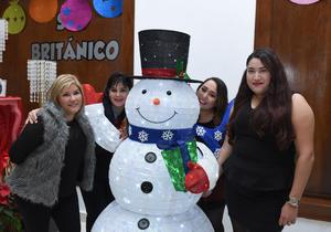 25122017 Elizama, Anabel, Lupita e Itzel.