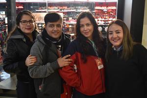 27122017 Michelle, Pedro, Erika y Xóchitl.