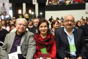 Jesús Campos, Alma de Campos y Alejandro Gidi