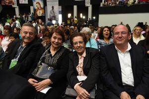 Jorge, Rosario, Carmelita y Luis Arturo