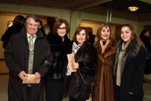 Ricardo, Lucrecia, Alejandra, Bertha e Isabel
